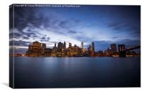 New York City Blues , Canvas Print