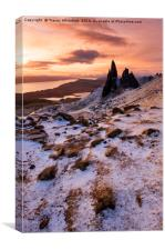 Storr Sunrise , Canvas Print