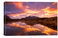 Set fire to the Skye, Canvas Print