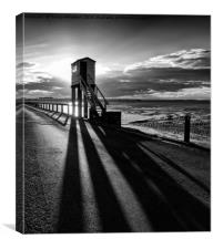 Shadows of the Watch Tower , Canvas Print