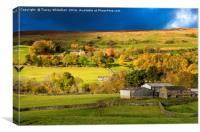 The Colours of Autumn , Canvas Print