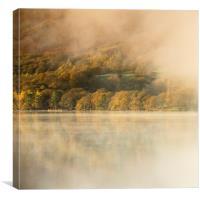 Autumn Mist , Canvas Print