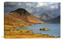 Wast Water , Canvas Print