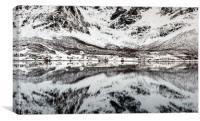 A Winter Mirror, Canvas Print