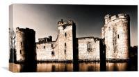 Spooky Castle, Canvas Print