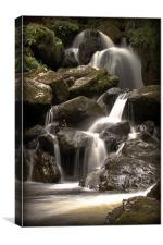 Lodore Falls, Canvas Print