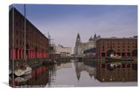 The Albert Dock, Canvas Print