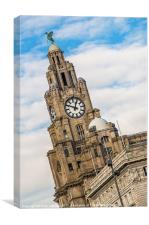 The Liver Bird, Canvas Print