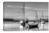 Abersoch Harbour, Canvas Print