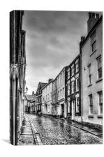 King Street Chester, Canvas Print