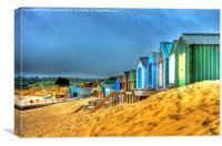 Abersoch Beach, Canvas Print