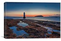 Sunrise Penmon Point, Canvas Print