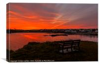 Sunrise Cemaes Bay, Anglesey, Canvas Print