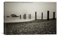 The West Pier, Canvas Print