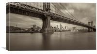 Manhattan Bridge, Canvas Print