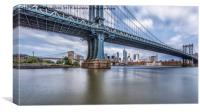 Manhattan Bridge, Canvas Print