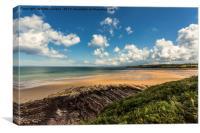 Lligwy Beach, Canvas Print