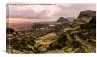 Sunrise at the Quiraing, Canvas Print