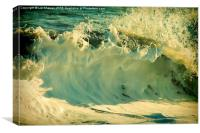 Waves of Charmouth, Canvas Print