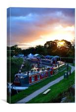 Whitchurch Narrowboat Festival 2012, Canvas Print
