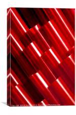 Crimson Hollows, Canvas Print