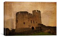 Dudley Castle, Canvas Print
