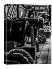 HMS Victory - Cannons, Canvas Print