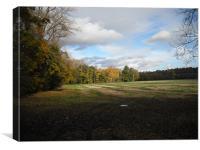 Autumn on the farm, Canvas Print