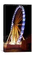 Liverpool Wheel at Night, Canvas Print