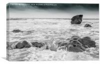 Newgale Beach, Canvas Print