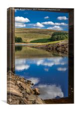 River Goyt, Canvas Print