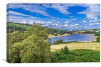 Goyt Valley, Canvas Print