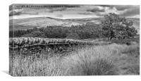 Goyt Valley, Canvas Print