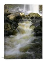 Hardraw Force Waterfall, Canvas Print
