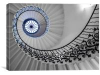 Spiral Stairs, Canvas Print