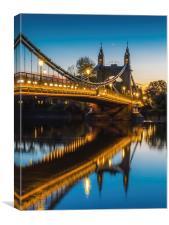 Hammersmith Bridge, Canvas Print