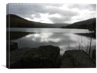 talybont reservoir, Canvas Print