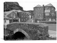 BOSCASTLE,NORTH CORNWALL, Canvas Print