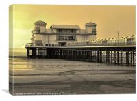 GRAND PIER WESTON-SUPER MARE, Canvas Print