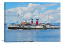 WAVERLEY AT LARGS, Canvas Print