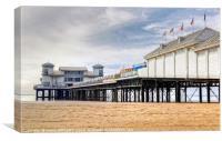 Grand Pier Weston Super Mare, Canvas Print