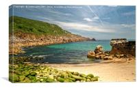 Lamorna Cove Cornwall, Canvas Print
