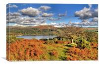 Burrator Reservoir Dartmoor, Canvas Print