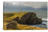 Stoer Head Lighthouse, Canvas Print
