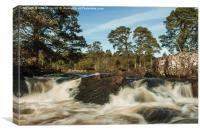 River Affric, Canvas Print