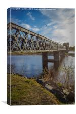 Spey Viaduct, Canvas Print