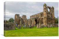 Elgin Cathedral, Canvas Print