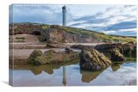 Covesea Lighthouse, Canvas Print