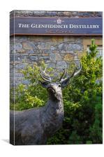 Glenfiddich Deer, Canvas Print