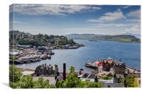 Oban From McCaigs Tower, Canvas Print